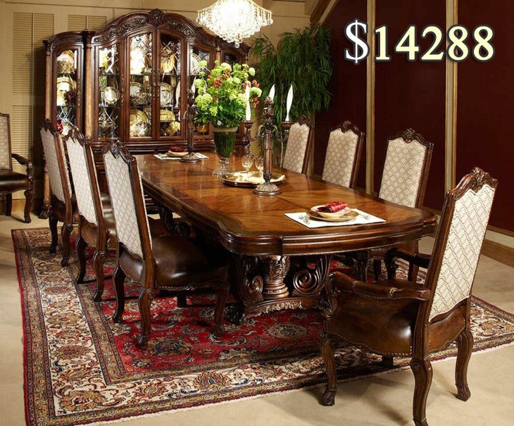 Beautiful Expensive Dinner Table Stunning Expensive Dining Room Sets 97 About Remodel Fabric Dining