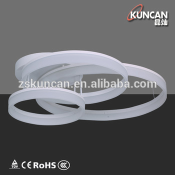 Beautiful Fancy Led Ceiling Lights Acrylic Fancy 3 Ring Design Led Ceiling Light Buy Circle Led