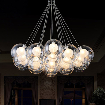 Beautiful Glass Ball Chandelier Modern Cheap Glass Ball Chandelier Modern Find Pertaining To Elegant Home