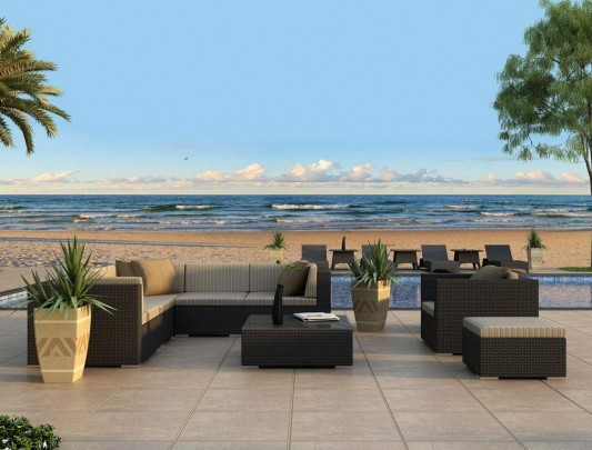 Beautiful High End Patio High End Outdoor Furniture Home Outdoor Backyard Landscape Design