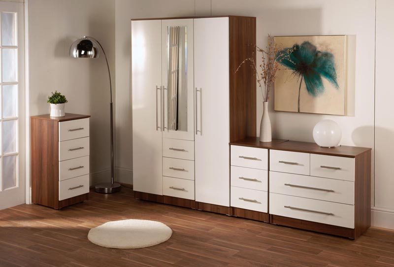 Beautiful High Gloss Bedroom Furniture High Gloss White Bedroom Furniture