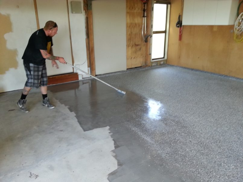 Beautiful Industrial Vinyl Flooring Garage Concrete Garage Floor Coating Best Concrete Floor Coating