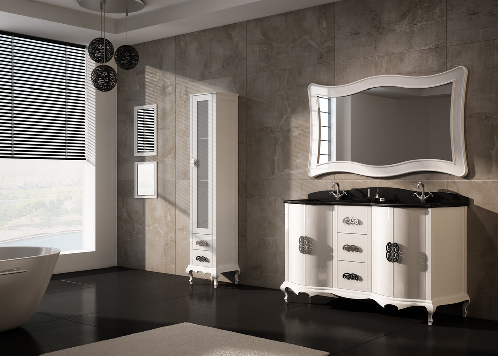 Beautiful Luxury Bathroom Storage Cabinets Luxury Bathroom Vanities Bathroom Traditional With Bathroom
