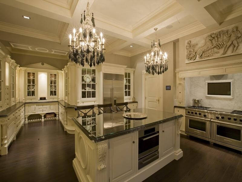 Beautiful Luxury Kitchen Island 30 Custom Luxury Kitchen Designs That Cost More Than 100000