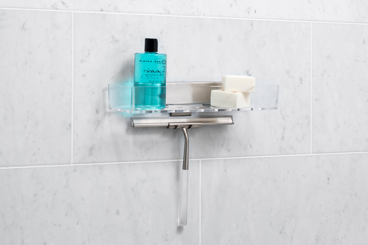 Beautiful Luxury Shower Accessories Online Exclusive Linea Luxury Shower Basket And Squeegee Bath