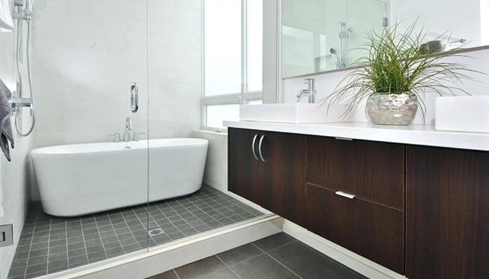 Beautiful Modern Bathroom With Tub Bathroom With Freestanding Tub Bathshower3 Bathshower4 Bathshower5