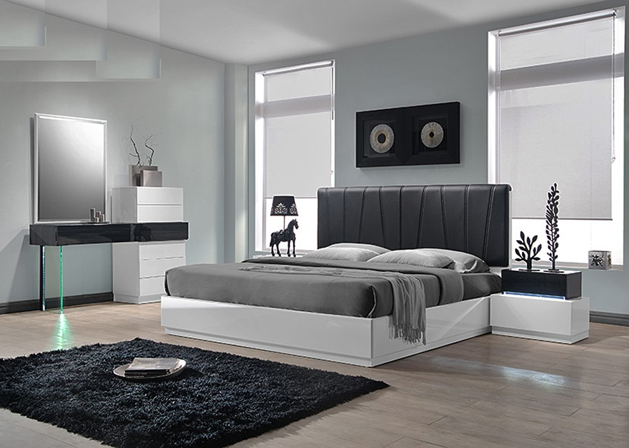 Beautiful Modern Bedroom Collections Modern Platform Bed Collection