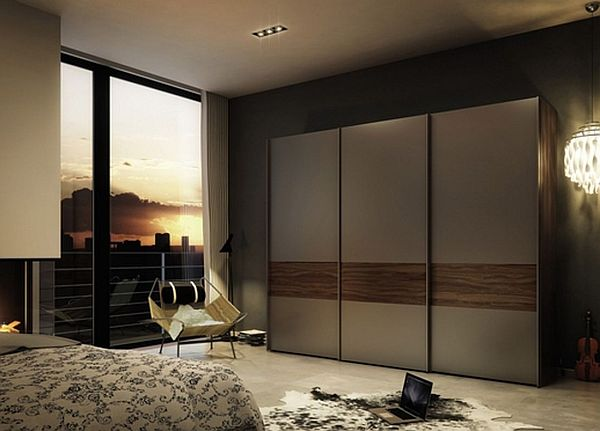 Beautiful Modern Bedroom Wardrobes Bedroom Timber Modern Sliding Doors Wardrobe Smith Design
