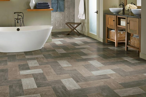 Beautiful Resilient Vinyl Tile Flooring Amazing Plank Luxury From Armstrong
