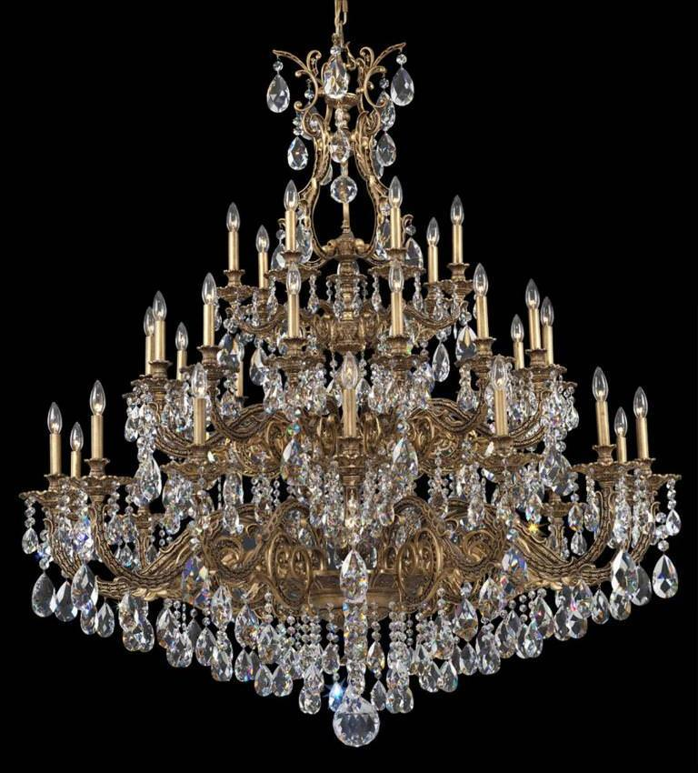 Beautiful Schonbek Crystal Chandelier Schonbek Crystal Chandeliers Interior Home Design