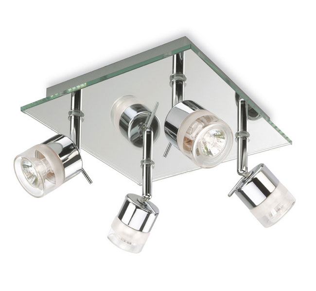 Beautiful Spotlight Ceiling Light 6097ch Firstlight 6097ch Ocean 4 Light Ceiling Spotlight In