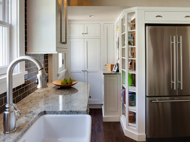 Beautiful Tiny Kitchen Design 8 Small Kitchen Design Ideas To Try Hgtv