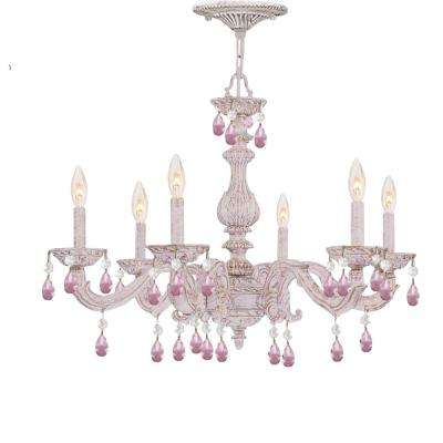 Beautiful White Chandelier Light White Chandeliers Lighting The Home Depot