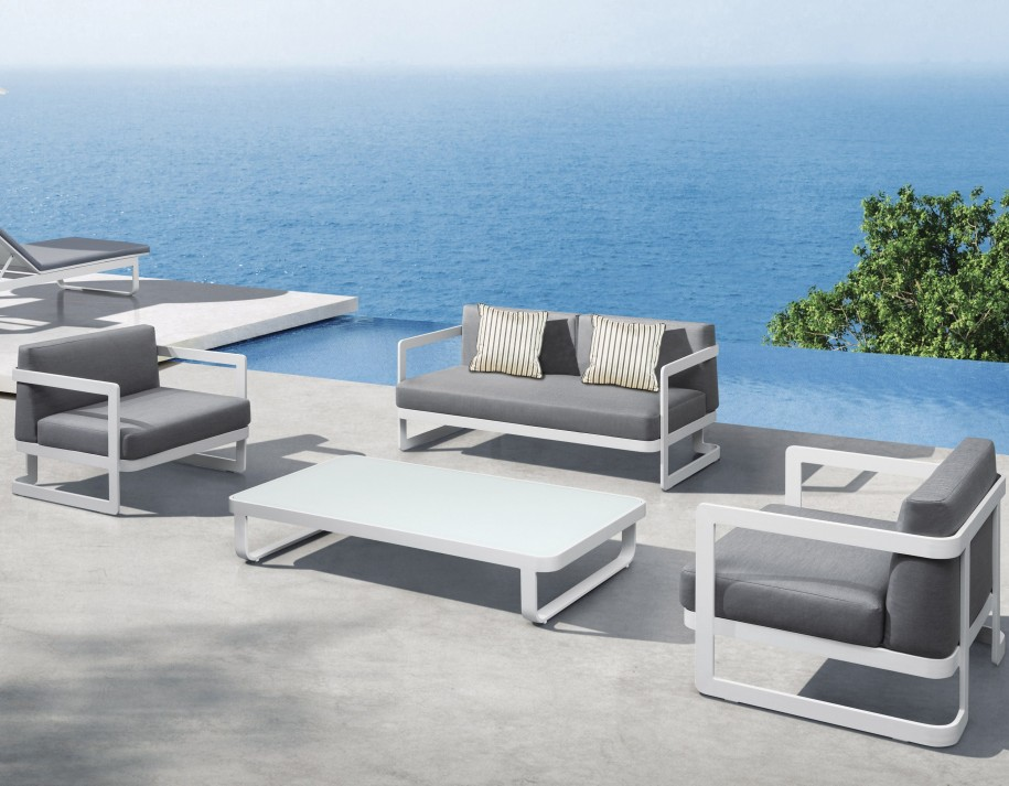 Beautiful White Modern Patio Furniture Stunning Modern Patio Chairs Contemporary Amazing Home Design In