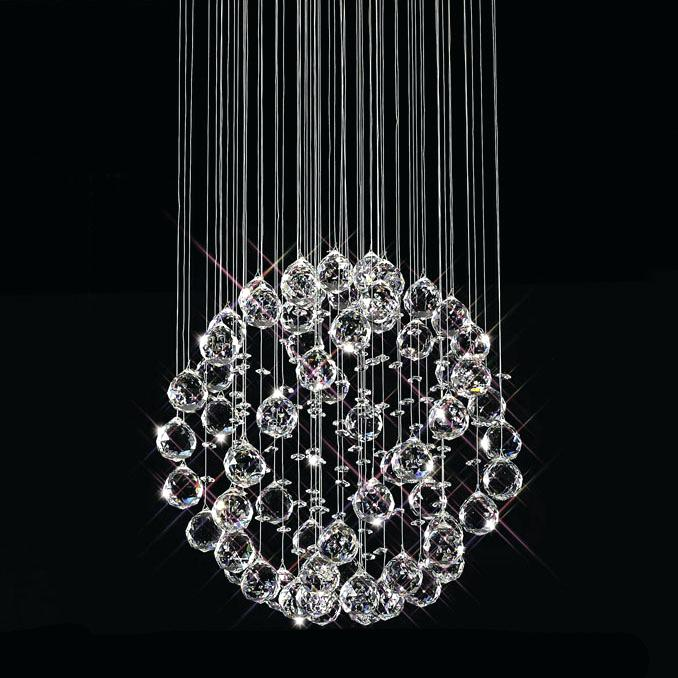 Best Ball Chandelier Light New Post Modern Crystal Chandelier Lamp Candle Holders Pendant