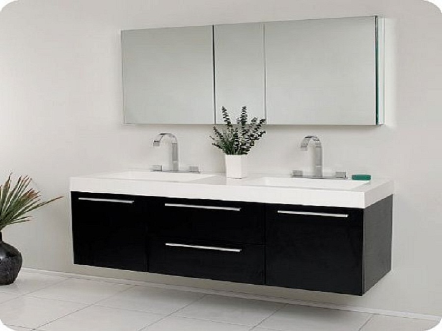 Best Bathroom Sink Cabinets Modern Furniture Amazing Bathroom Sink Cabinets Black Modern Double
