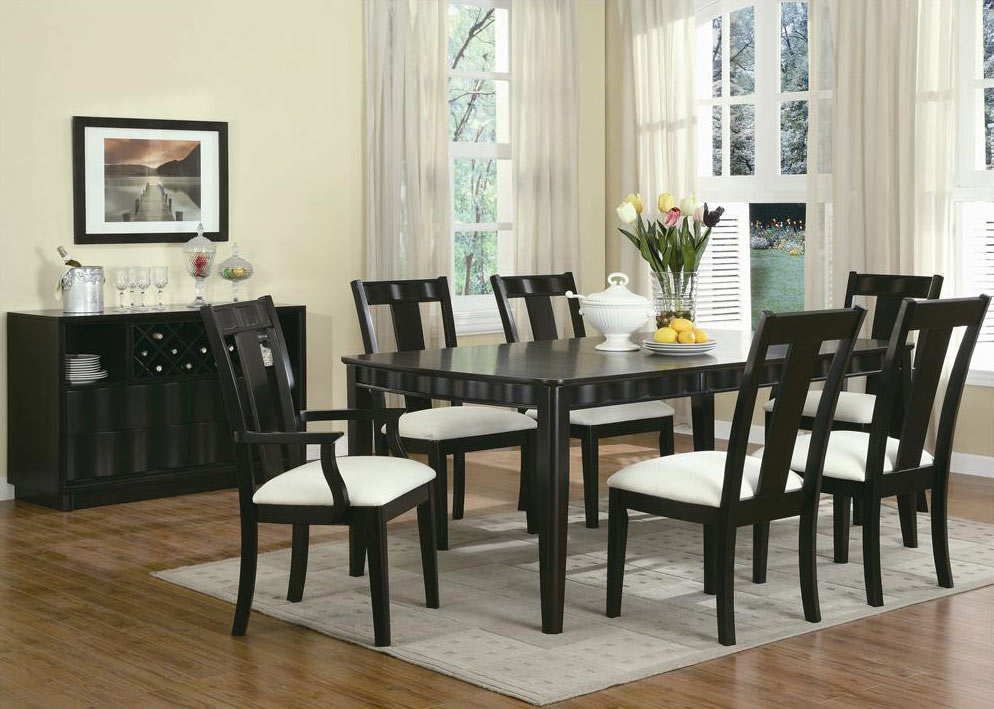 Best Black Dining Room Table And Chairs Black Dining Room Furniture Createfullcircle