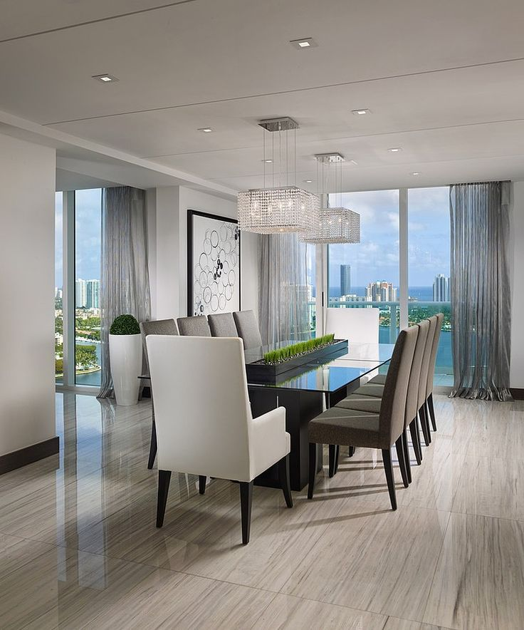 Best Contemporary Dining Room Best 25 Contemporary Dining Rooms Ideas On Pinterest