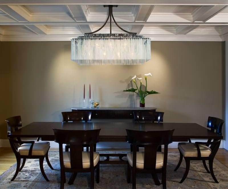 Best Contemporary Rectangular Chandelier Beautiful Modern Dining Room Chandeliers For Your Space
