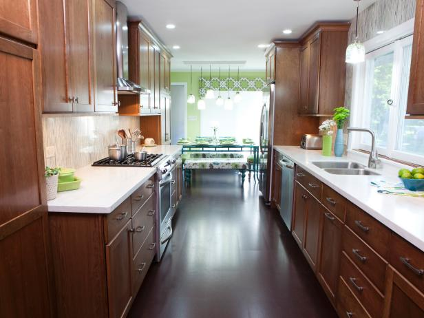 Best Galley Kitchen Designs Galley Kitchen Designs Hgtv