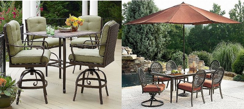 Best High Outdoor Furniture Collection In Sears Patio Sets Exterior Decorating Suggestion