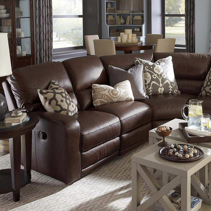 Best Leather Living Room Furniture Wonderful Classic Style Dark Brown Leather Living Room