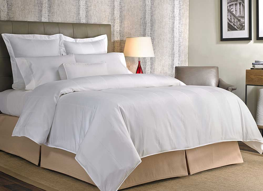 Best Luxury Hotel Bedding Buy Luxury Hotel Bedding From Marriott Hotels Birds Eye Stripe