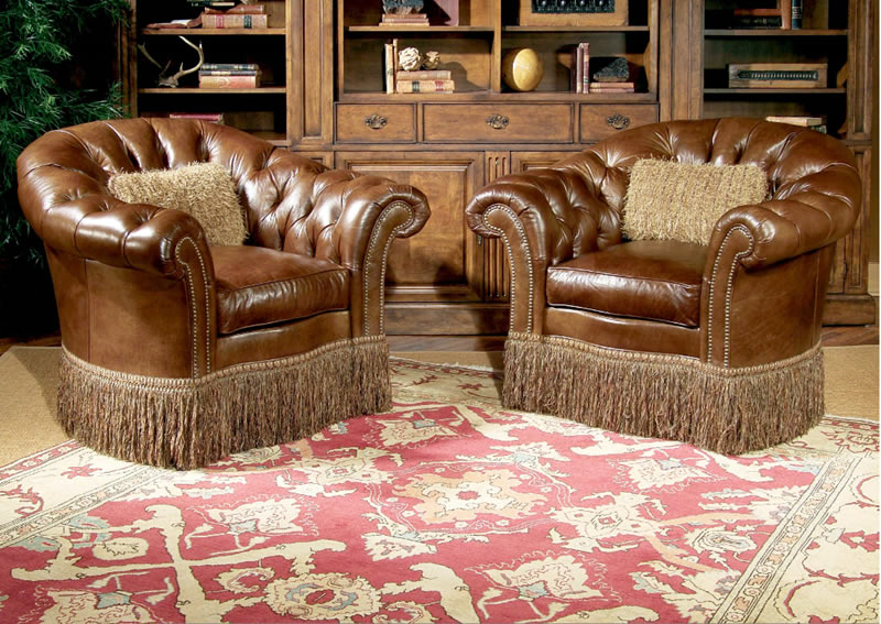 Best Luxury Leather Furniture Stylish And Luxurious Leather Collection Chester Swivel Chair