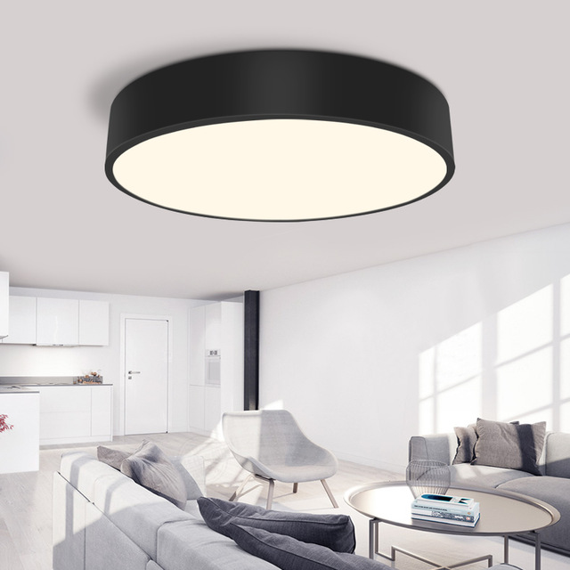 Best Round Ceiling Light Modern Led Ceiling Light Round Simple Decoration Fixtures Study