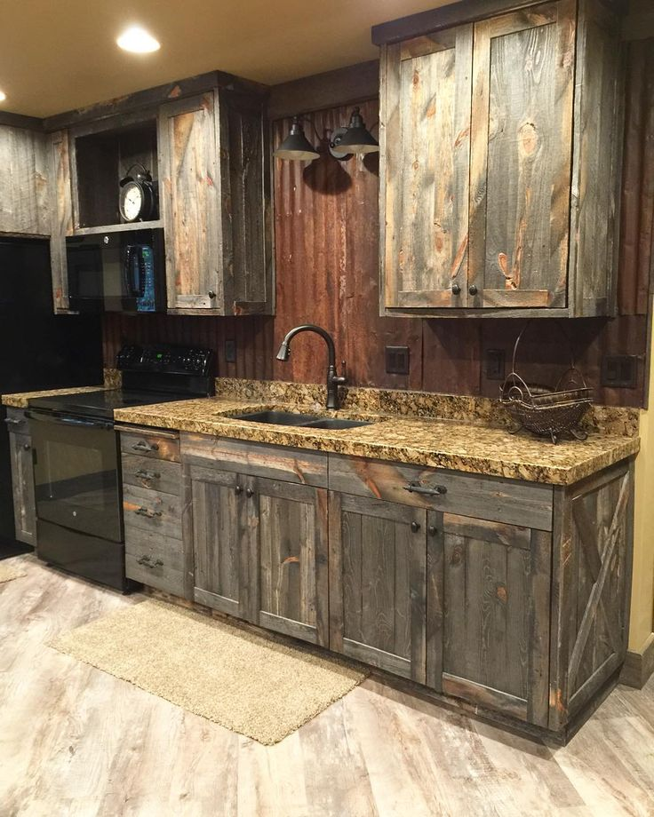 Best Rustic Kitchen Furniture Best Rustic Kitchen Cabinets Home Design Ideas Design Rustic