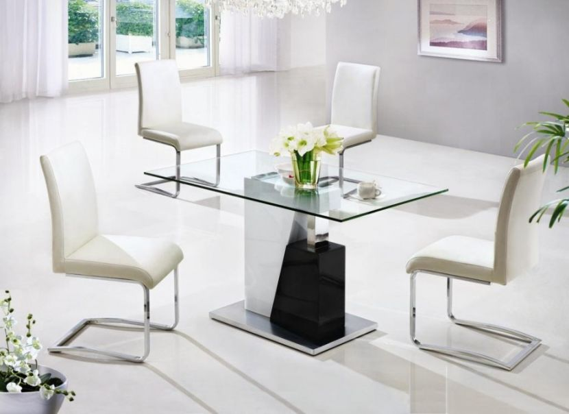 Best Small Modern Dining Table Small Glass Dining Room Tables Modern Home Design