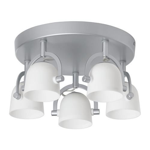 Best Spotlight Ceiling Light Svirvel Ceiling Light With 5 Spotlights Ikea