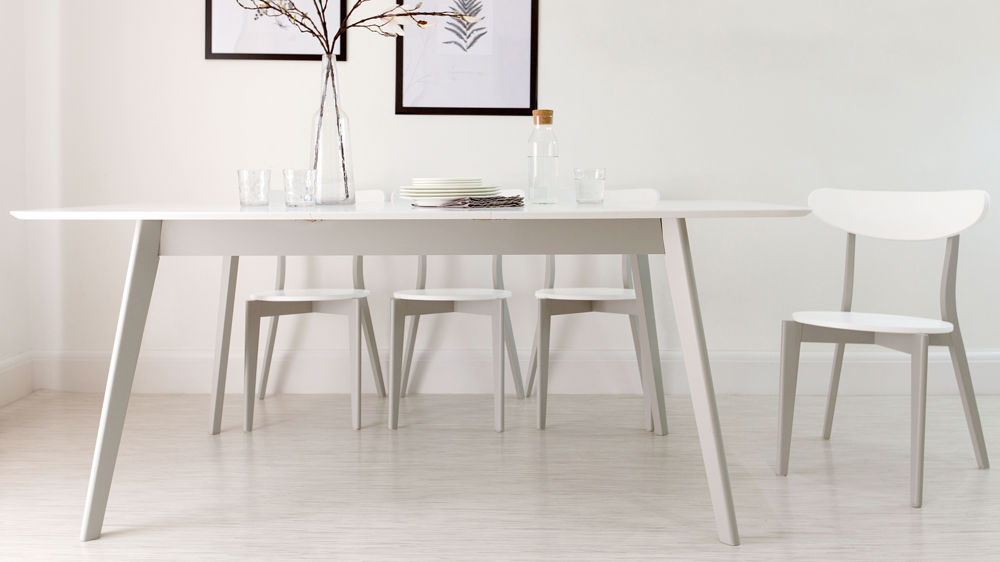 Best White Dining Table Modern Grey And White Extending Dining Table 8 Seater Uk Lovable