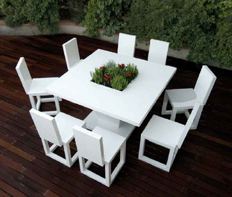 Best White Modern Patio Furniture Attractive White Modern Outdoor Furniture Exterior Exterior