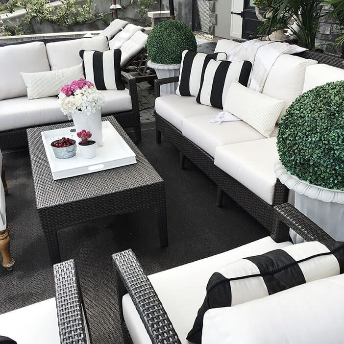 Best White Modern Patio Furniture Best 25 White Patio Furniture Ideas On Pinterest Modern Outdoor