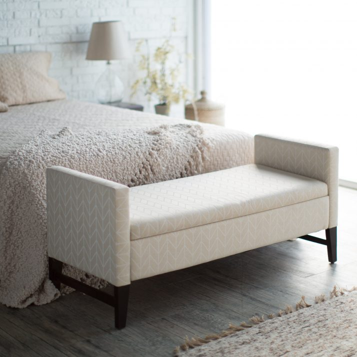 . Chic Contemporary Bedroom Bench Bedroom Contemporary Bedroom Benches