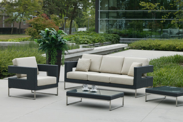 Brilliant Contemporary Patio Furniture Collection In Contemporary Patio Furniture Exterior Design Ideas