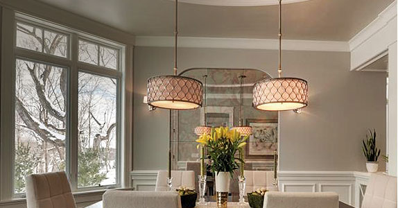 Brilliant Dining Room Lighting Dining Room Lighting Fixtures Ideas At The Home Depot