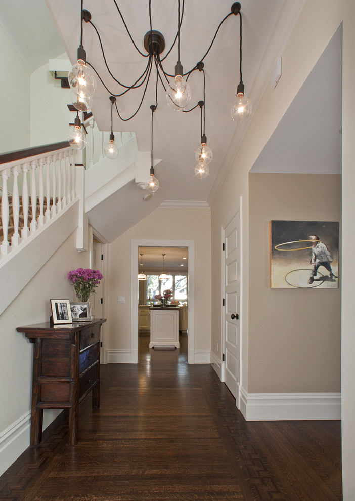 Brilliant Entry Chandelier Lighting Rectangular Chandelier Lighting Entry Contemporary With Dark Floor