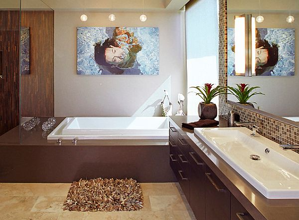 Brilliant Fancy Modern Bathroom Bathroom Design Modern Bathroom With Fancy Sink Design Bathroom