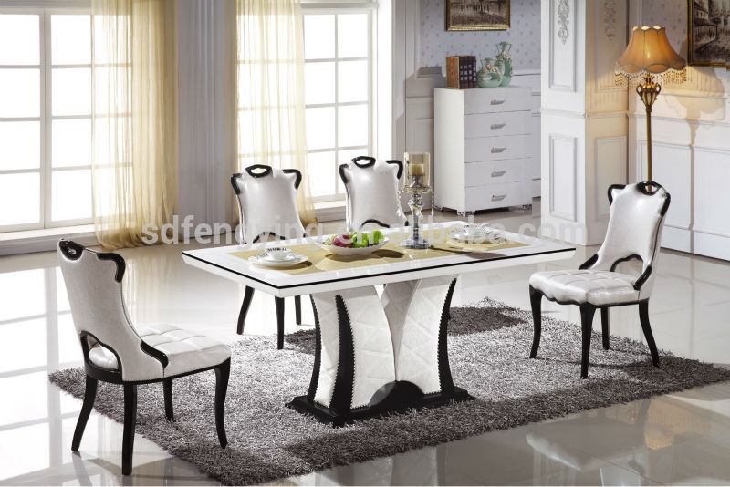 Brilliant Italian White Dining Table Home Design Beautiful Italian Marble Dining Table Mesmerizing