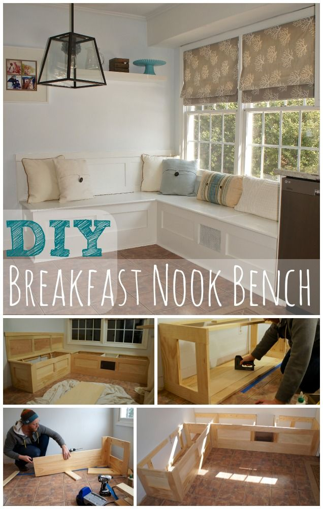 Brilliant Kitchen Nook Seating Mesmerizing Diy Kitchen Nook Plans Office Design Bench Seating