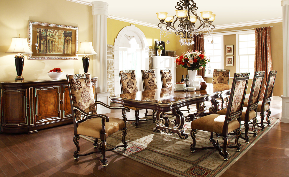 Brilliant Luxury Dining Room Tables And Chairs Luxury Dining Room Tables Marceladick
