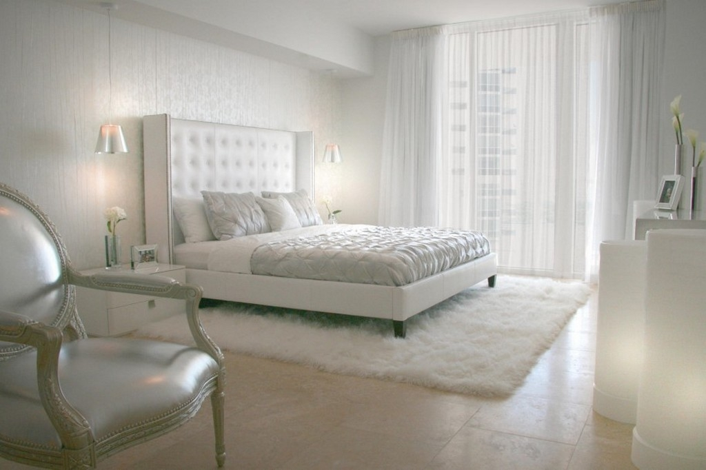 Brilliant Luxury Small Bedroom Ideas Luxury Small Bedroom Designs With Wool Rugs And White Bedside