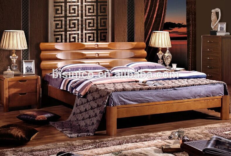 Brilliant Luxury Wooden Beds European Ash Wood Luxury Double Bedclassic Pure And Gorgeous