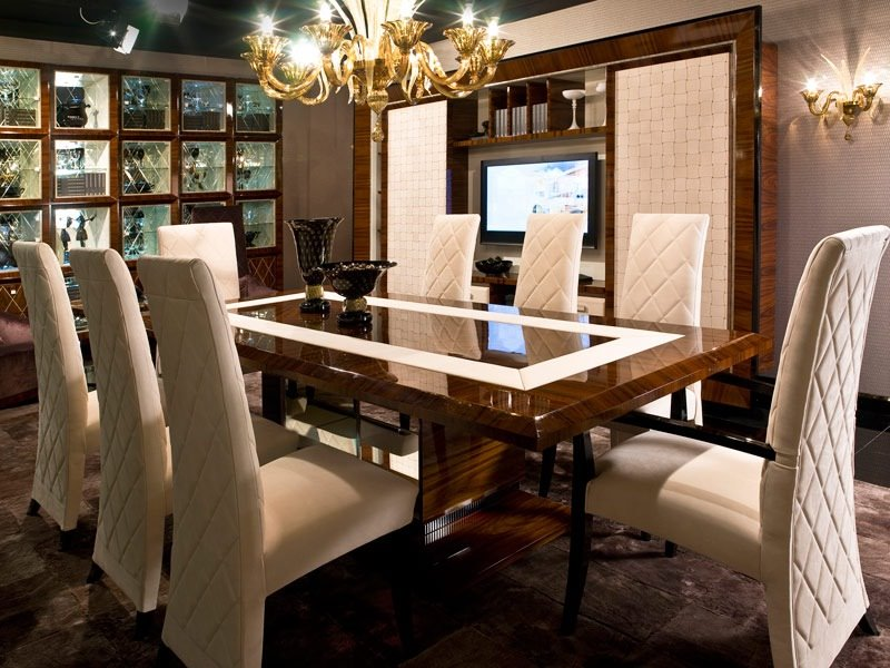 Brilliant Luxury Wooden Dining Tables Chair Alluring Luxury Dining Tables And Chairs Designer Room
