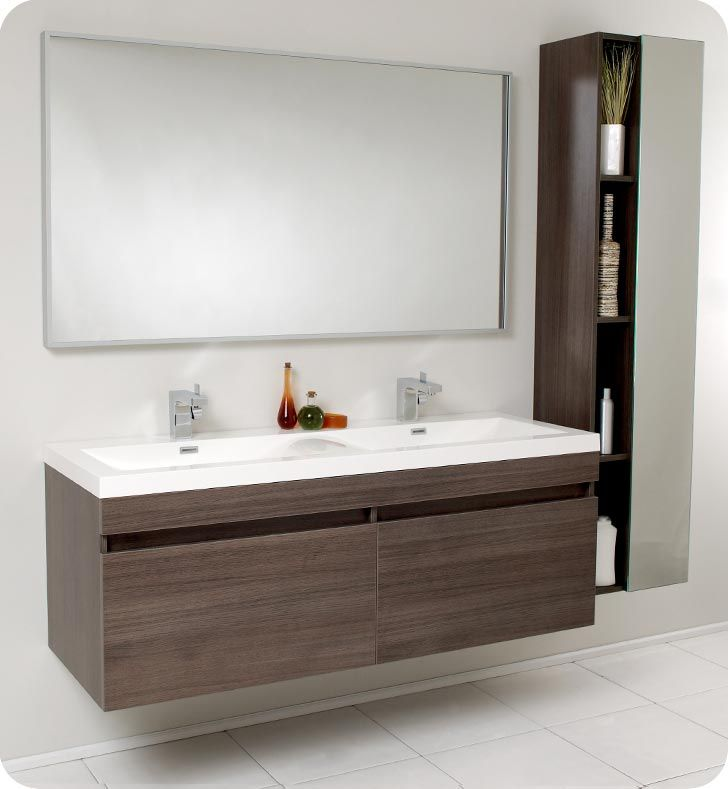 Brilliant Modern Bathroom Sinks And Vanities Modern Bathroom Double Sink With Vanities Ideas Direct Divide