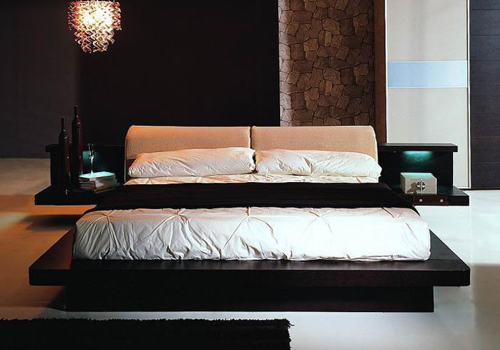 Brilliant Modern Platform Bed Sets Modern Platform Bedroom Set