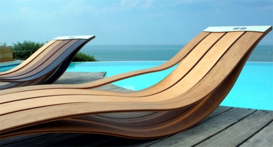 Brilliant Ultra Modern Patio Furniture 7 Ultra Modern Lounge Chair Designs Made Of Wood For Outdoor Use
