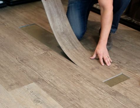 Brilliant Vinyl Flooring Installation Not Only Is Vinyl Plank Durable The Ease Of Installation And